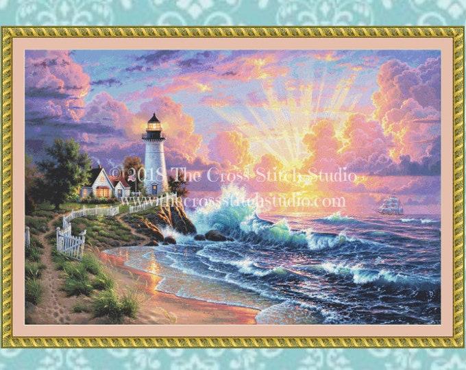 Light of Hope Cross Stitch Pattern