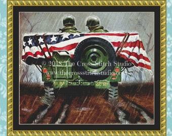 WW2 Cross Stitch Pattern