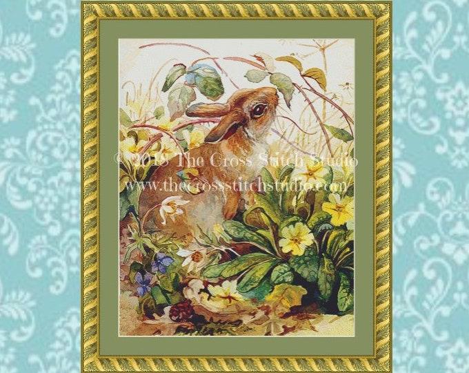 Easter Bunny Cross Stitch Pattern