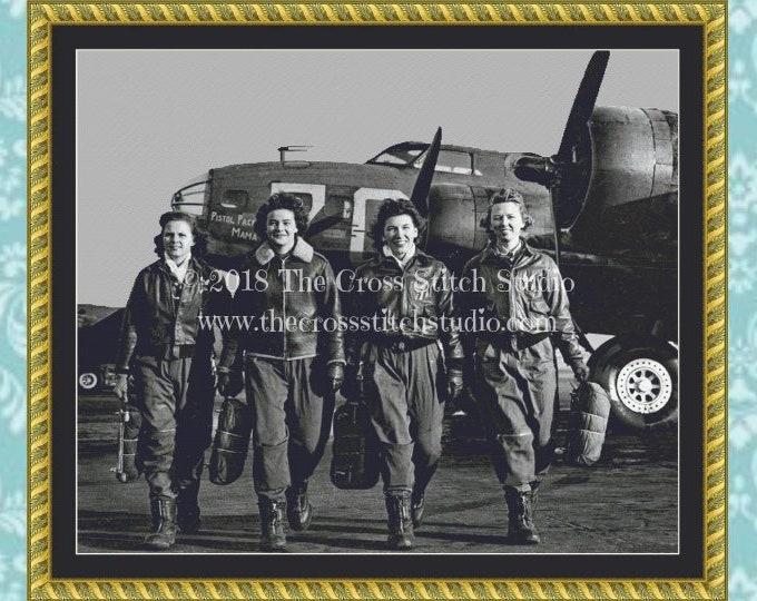 WW2 WASPs Cross Stitch Pattern