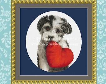 Dog Cross Stitch Pattern