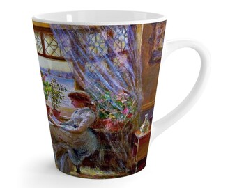Reading by the Window Coffee Mug