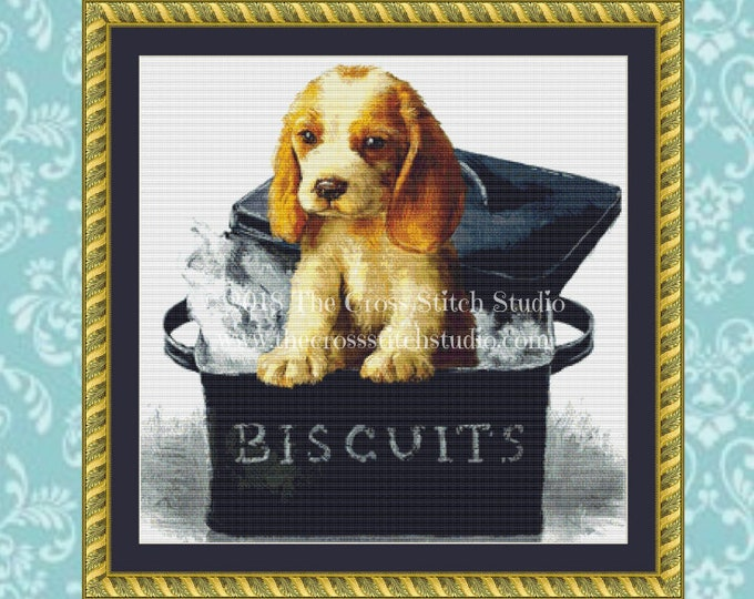 Looking for Treats Cross Stitch Pattern