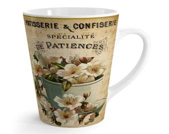 Teacup Flowers Coffee Mug