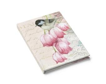 Chickadee & Tulips Journal