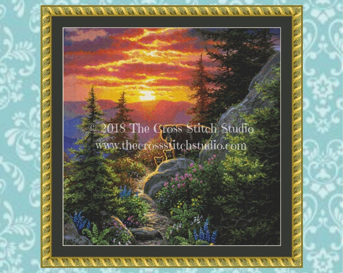 From the Ashes Cross Stitch Pattern ~ SMALL