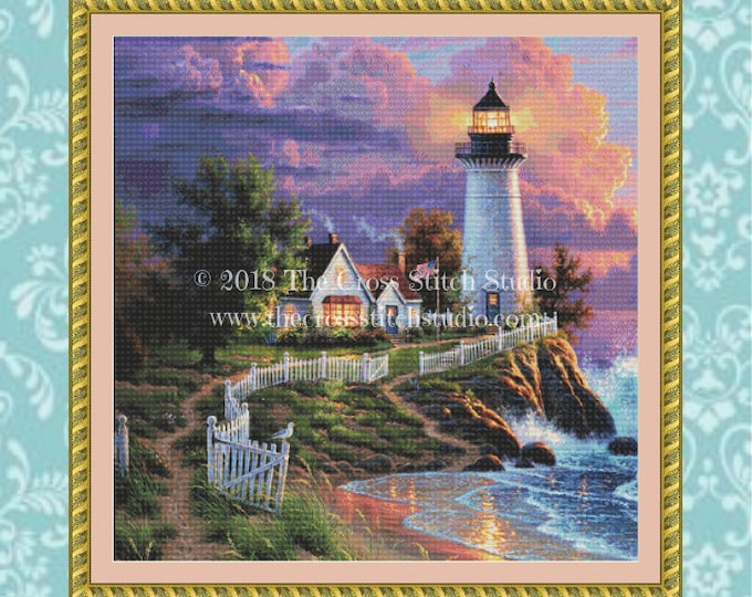 Light of Hope Cross Stitch Pattern SMALL