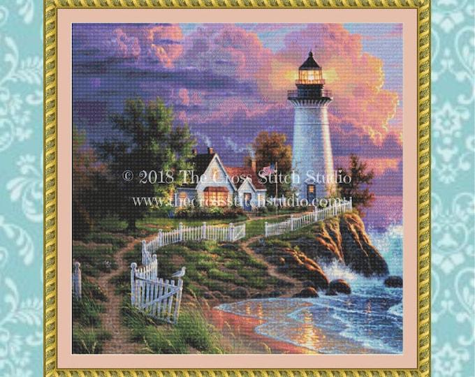 Light of Hope Cross Stitch Pattern ~ SMALL