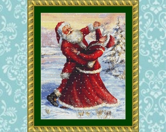 Dancing With the Mrs Cross Stitch Pattern