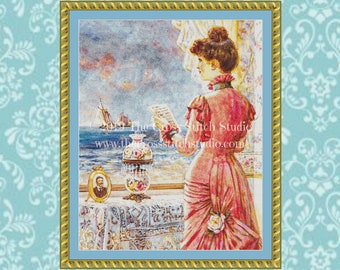 The Letter Cross Stitch Pattern ~ SMALL
