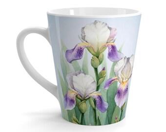 Trio of Irises Coffee Mug