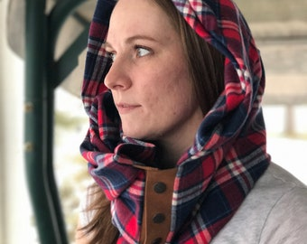 Leather, and flannel fashion scarves