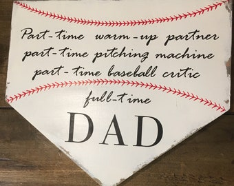 Baseball theme, full time Dad.