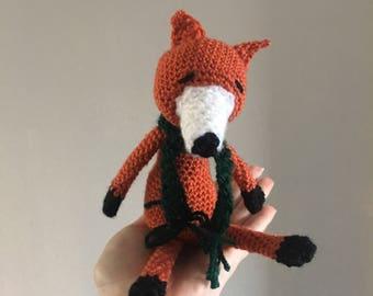 Soft fox toy