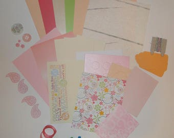 Hippie Chick Card Making Pack