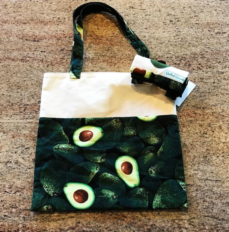 Avocado foldup shopping bag foldup Farmer/'s Market bag avocado tote bag reusable avocado grocery bag keto reusable fold-up grocery bag