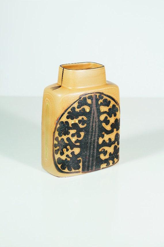 Vintage Danish Pottery Royal Copenhagen Fajance Baca Vase