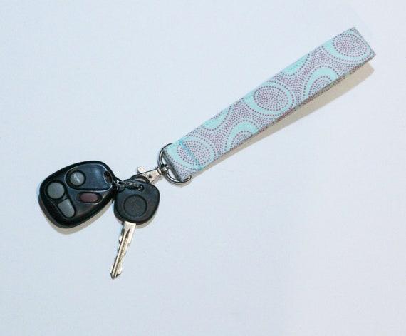 Geometric Wristlet Wristlet Keychain Keychain Geometric Pattern Wristlet Geometric Pattern Key Fob Key Holder