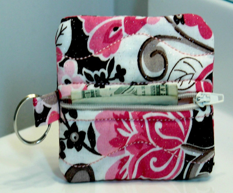 Earphone holder mini coin purse