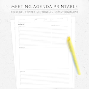 Meeting Agenda With Notes Template from i.etsystatic.com