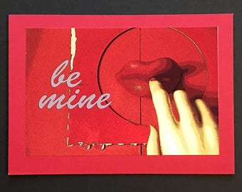 Original Color Photo Valentine Card
