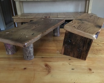 Meditation Bench And Altar   Handcrafted With Love From Reclaimed Wood