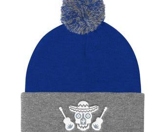 Cultural Legacy Logo Knit Cap (Royal Blue/Grey)