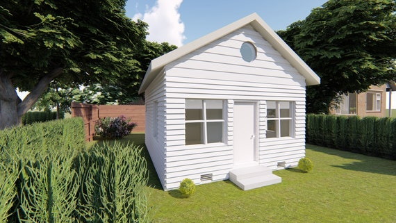 Affordable Tiny House Plans The California All New Design 500 Etsy