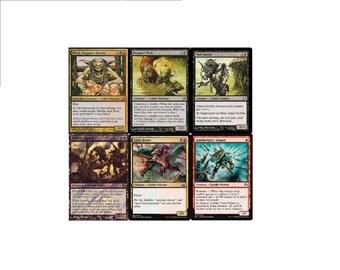 Black Boggart Mob NM Magic Goblin 60 Cards  MTG Deck Stenchskipper