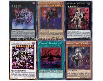 Yugioh Bram Vampire Budget Deck Vamp Scarlet 43 Cards Sorcerer
