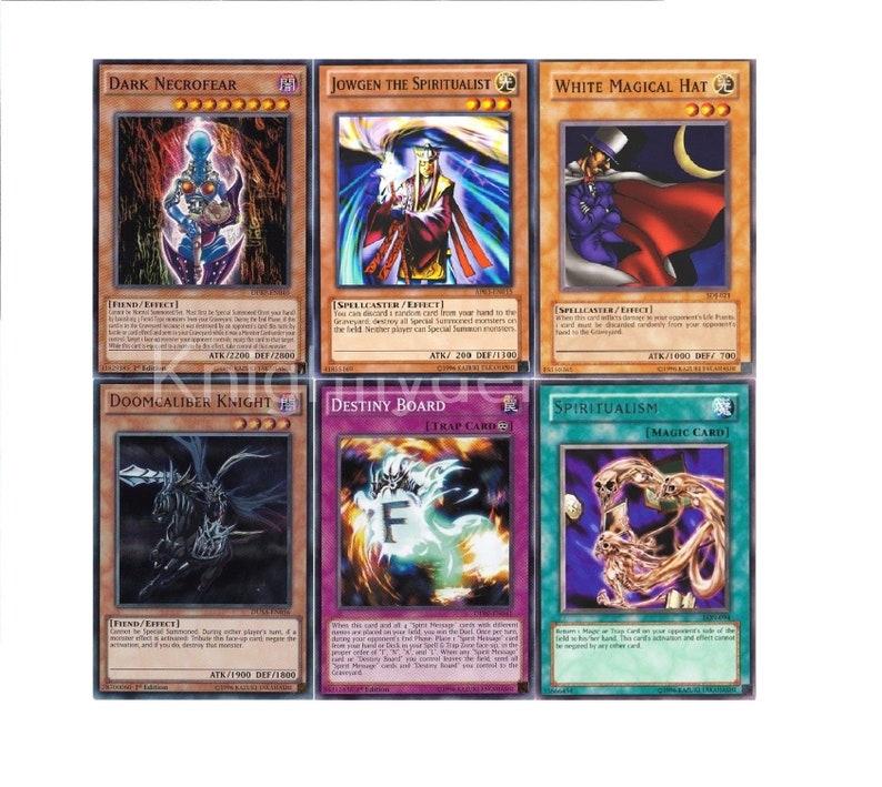Yugioh Bakura Complete Deck - Jowgen - Destiny Board X2 - Dark Necrofear -  40 Cards