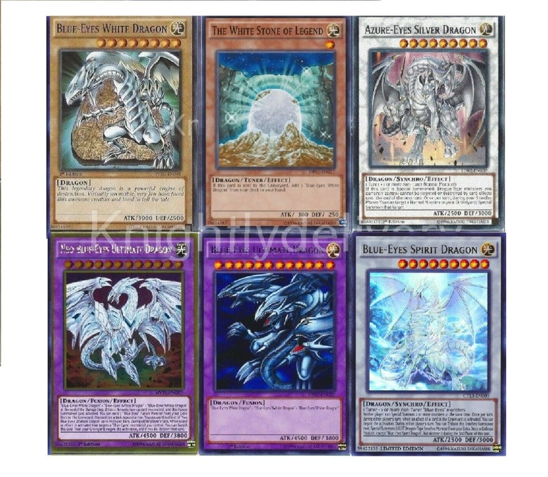 Blue Eyes 2019 Deck Neo Ultimate Dragon Azure Eyes Spirit 47 Cards Nm Yugioh