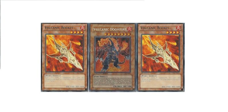 Volcanic Budget Deck - Doomfire - Shell - Volcanic Rocket - NM - 43 Cards