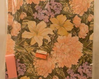 Vintage Gift Wrap/Color Burst/Floral