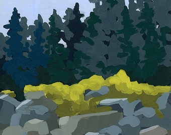"Original Painting - ""Little Hunters Beach I"""