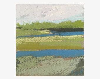 Original Pastel - Scarborough Marsh 1