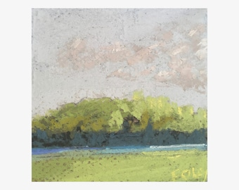 Original Pastel - Scarborough Marsh 3