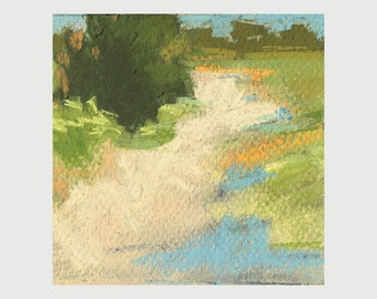 "Original Pastel - ""Kennebunk Plains 2"""