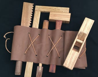 Play Woodworking Tool Set