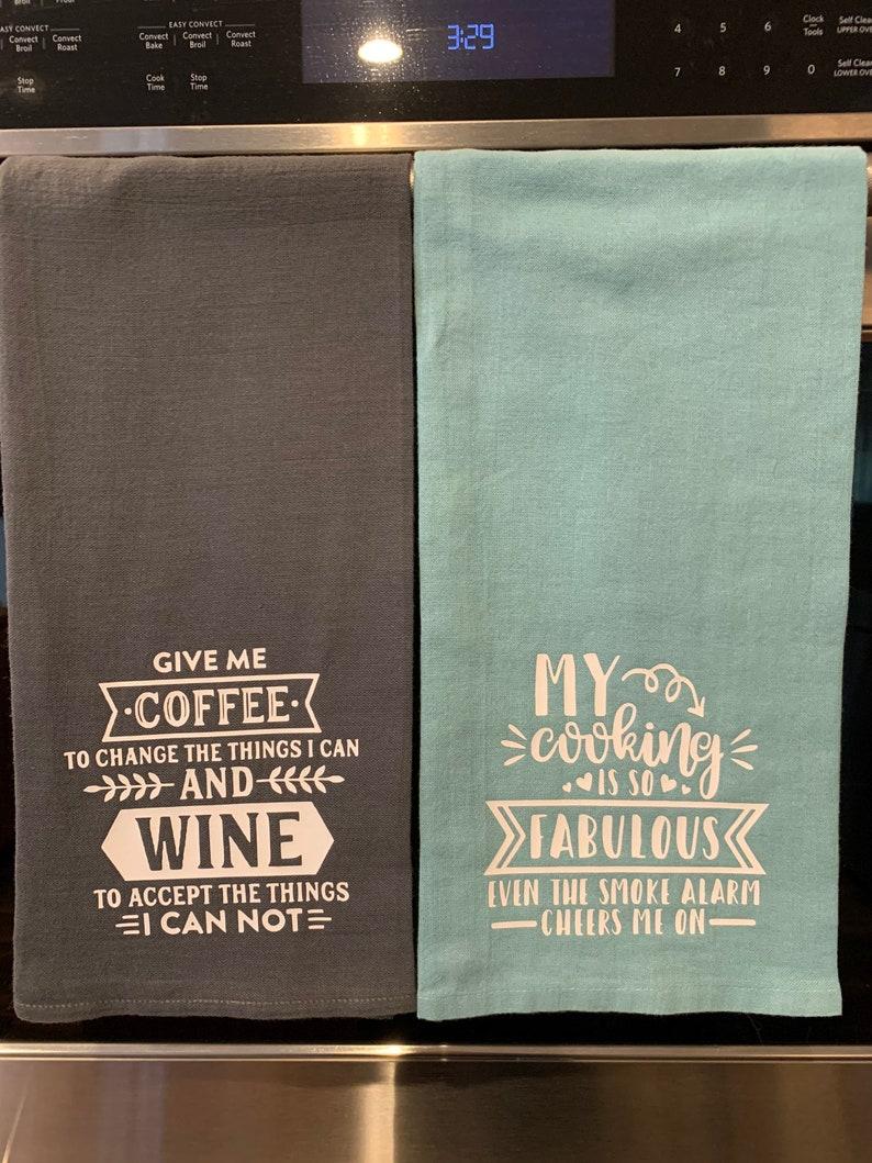 Custom Kitchen Tea Towels