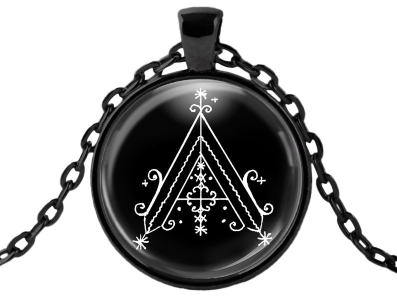 Agaou Conjure Natural Disaster Protection Veve Voodoo Choose Pendant, Key  Talisman, Layered Necklace Obsidian Stone, Earrings, Cuff Bracelet