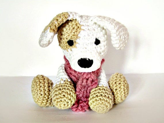 Amigurumi Häkeln Hund Hund Häkeln Tier Gefüllte Tier Etsy