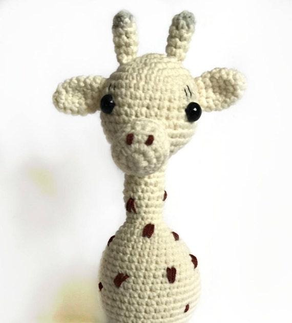 Gehäkelte Giraffe-Amigurumi Giraffe-gefüllte Giraffe-Häkeln | Etsy