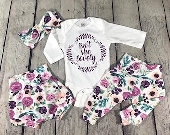 f51af57c5c8eb Baby girl outfit | Etsy