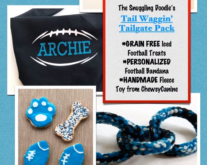 Carolina Panthers Combo Pack for Dogs - GRAIN FREE