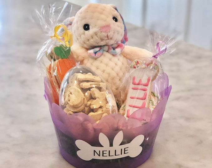 Personalized Easter Basket for Dogs - GRAIN FREE