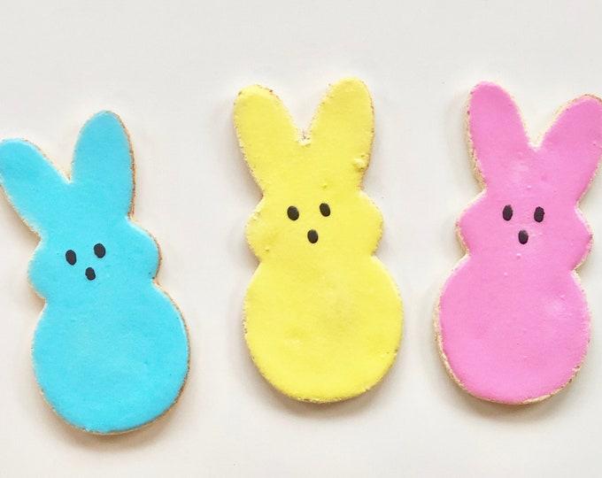 Iced Bunny PEEPS Easter Dog Treats - GRAIN FREE