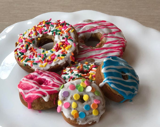 Doodle Doughnuts - Grain Free Cake Doughnuts for Dogs - LOCAL PICKUP ONLY