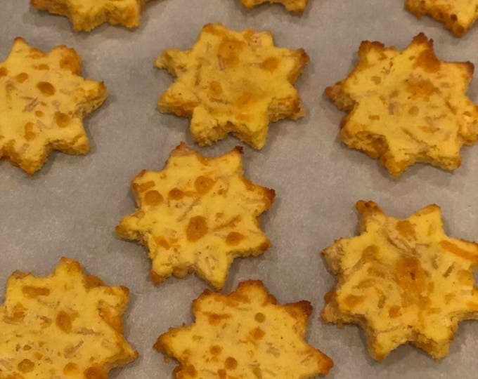 Cheesy Cheddar Stars - GRAIN FREE Dog Treats