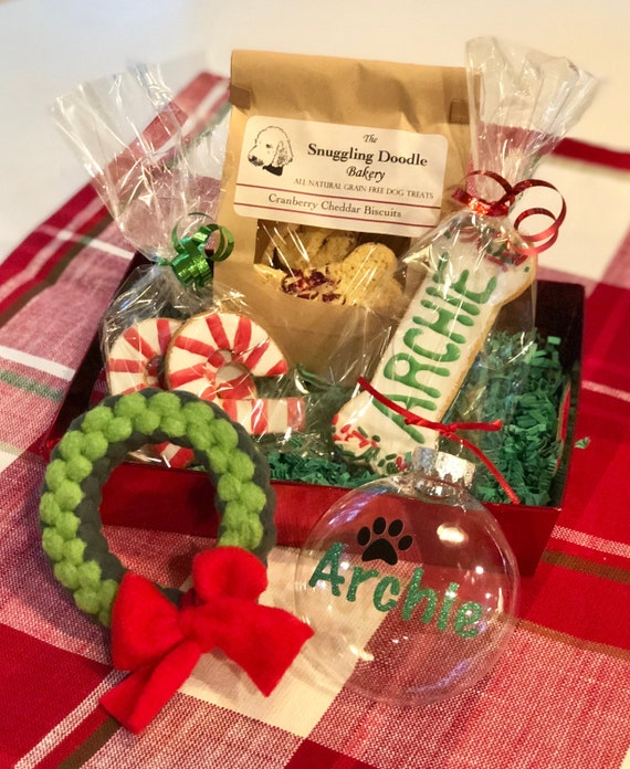 Holiday Gift Basket for Dogs - GRAIN FREE
